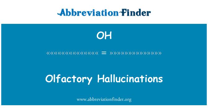 OH: Maitsmis hallutsinatsioonid