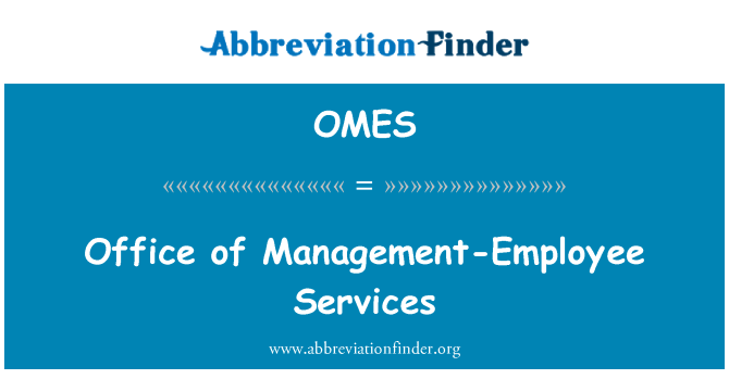 OMES: Office of Management-Employee Services