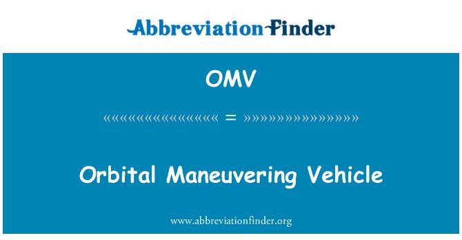 OMV: Yörünge manevra aracı