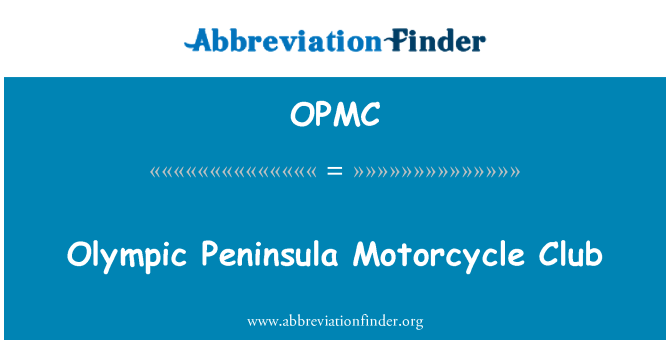 OPMC: Península Olímpica Motorcycle Club