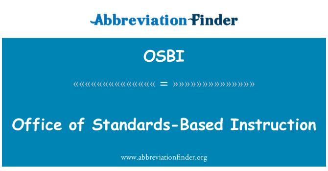 OSBI: Office'i standarditel põhinev õpe