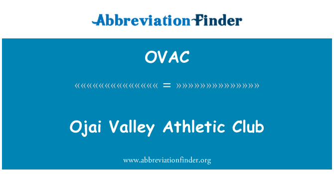 OVAC: Ojai Valley spordiklubi