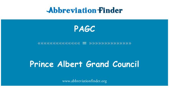 PAGC: Prince Albert Grand Council