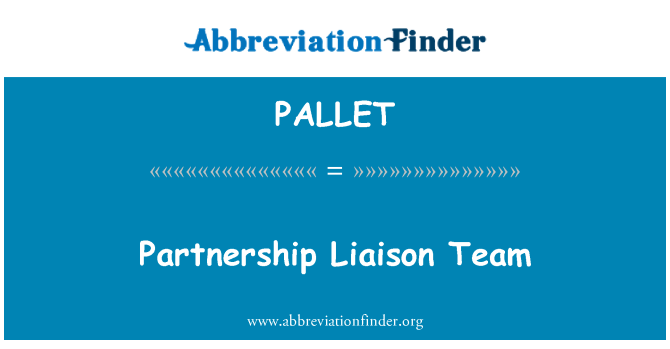 PALLET: Partnerskap Liaison Team
