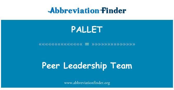 PALLET: Коллегиального руководства команды