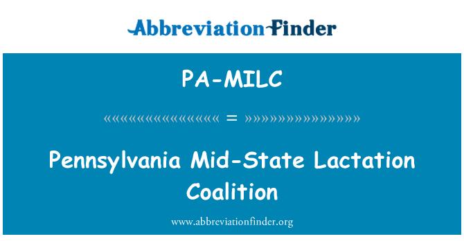 PA-MILC: Pennsylvania Mid-State Lactation Coalition