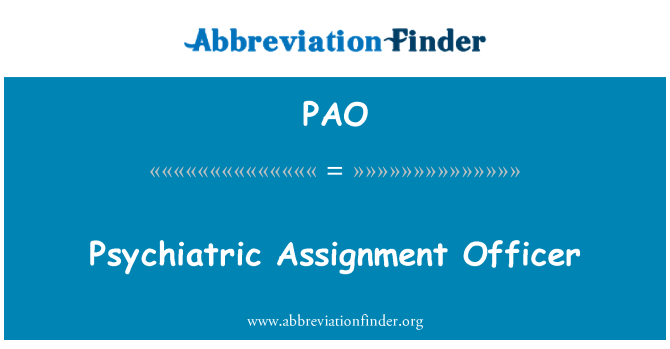What is the abbreviation for Assignment