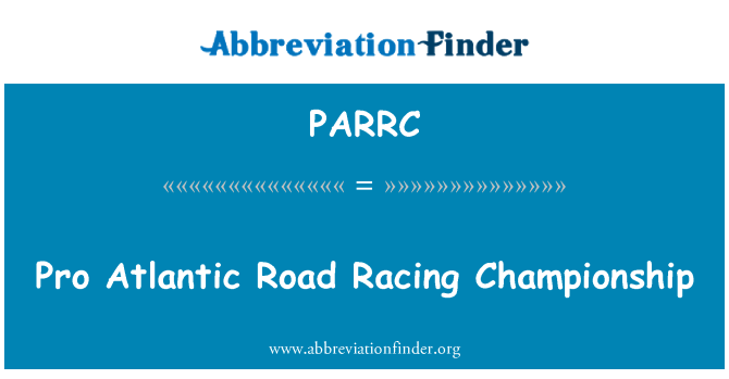PARRC: Pro Atlantic Road Racing Championship