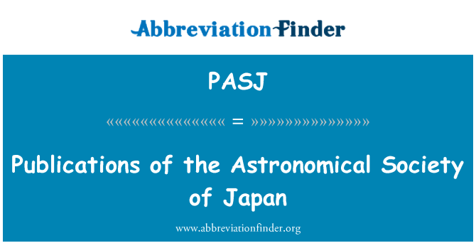 PASJ: Publications of the Astronomical Society of Japan