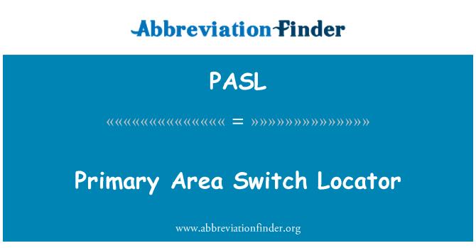 PASL: Primary Area Switch Locator