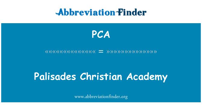 PCA: Palisades Christian Academy