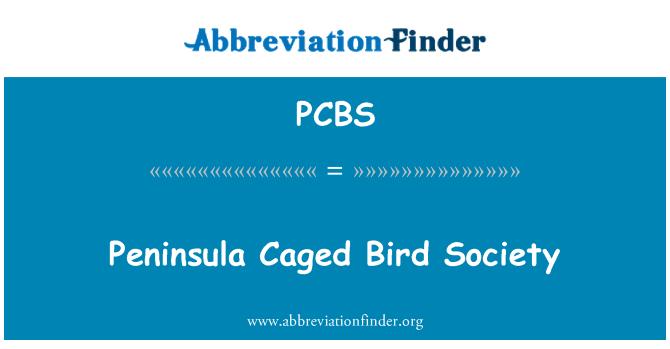 PCBS: Península de Caged Bird Society