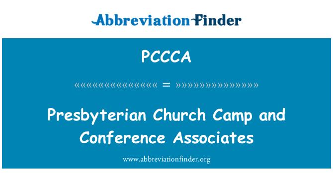 PCCCA: Presbyterian Church Camp and Conference Associates