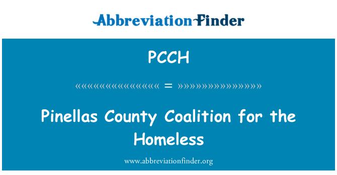 PCCH: Pinellas İlçesi koalisyon evsizler