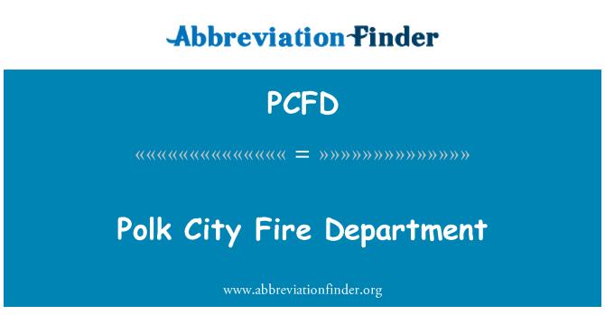 PCFD: Polk City Fire Department