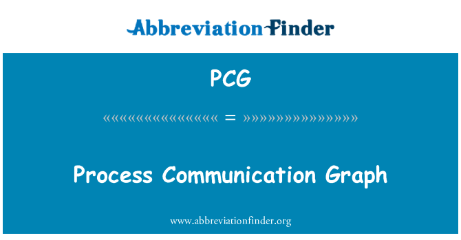 PCG: Process Communication Graph