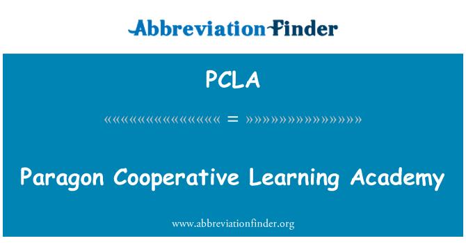 PCLA: Paragon Koperasi pembelajaran Akademi