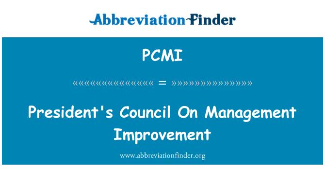 PCMI: Presidendi nõukogule haldamise parandamiseks