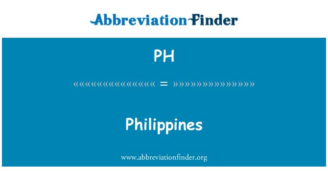 PH: Philippines