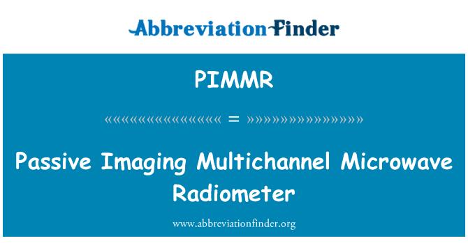PIMMR: Passive Imaging Multichannel Microwave Radiometer