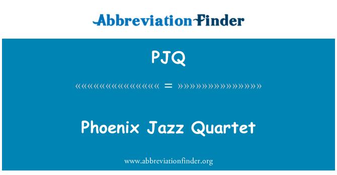 PJQ: Phoenix Jazz Quartet