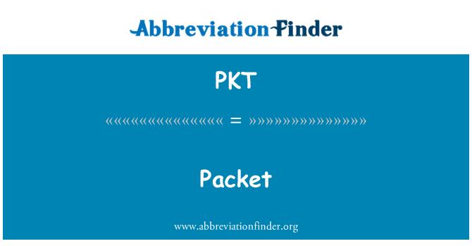 PKT: Packet