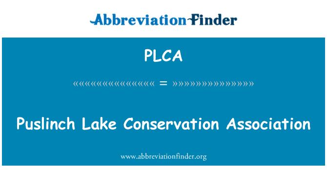 PLCA: Puslinch Lake Conservation Association