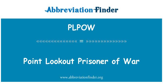 PLPOW: Point Lookout Prisoner of War