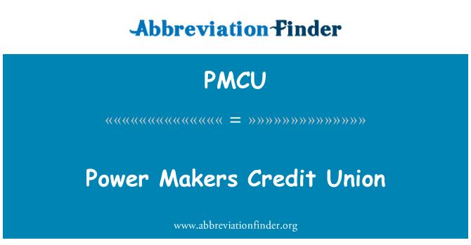 PMCU: Los fabricantes de alimentación Credit Union