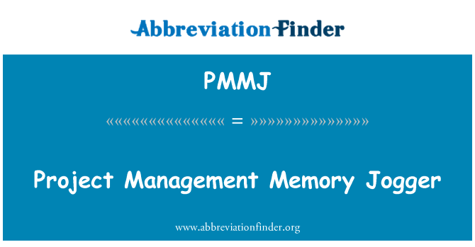 PMMJ: Project Management Memory Jogger
