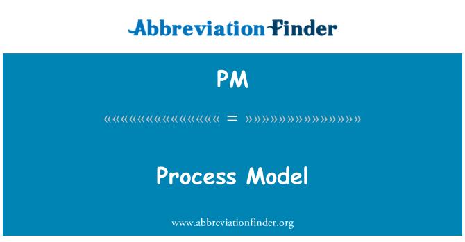 PM: Process Model