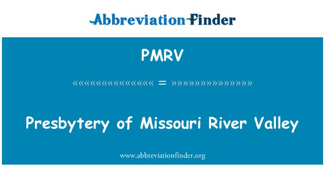 PMRV: Presbytery of Missouri River Valley