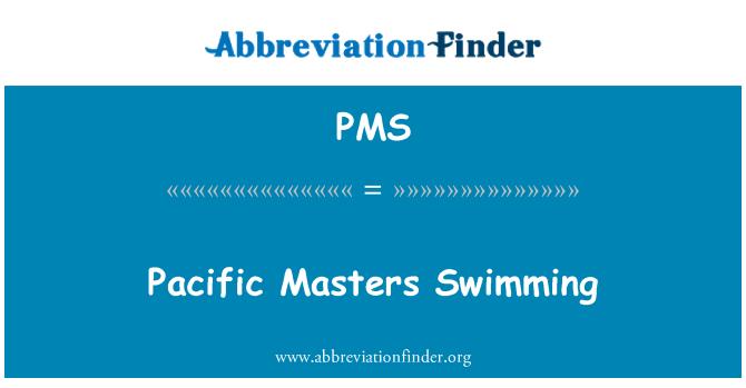 PMS: Pacific Master Renang