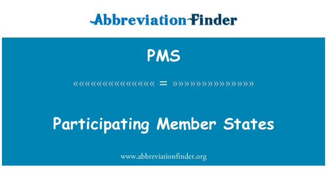 PMS: Negara-negara anggota yang terlibat