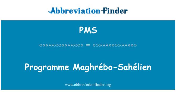 PMS: Program Maghrébo-Sahélien
