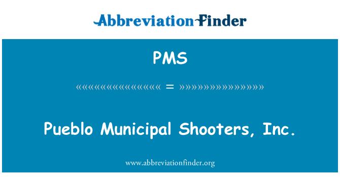 PMS: Pueblo Municipal penembak, Inc.