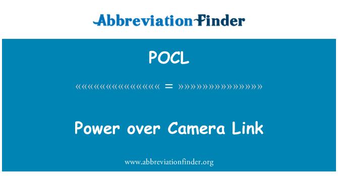 POCL: Power over Camera Link