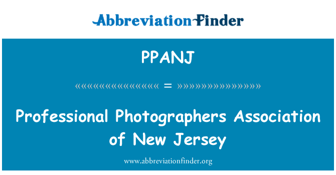 PPANJ: Professional Photographers Association of New Jersey