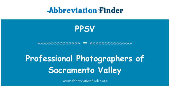 PPSV: Professional Photographers of Sacramento Valley