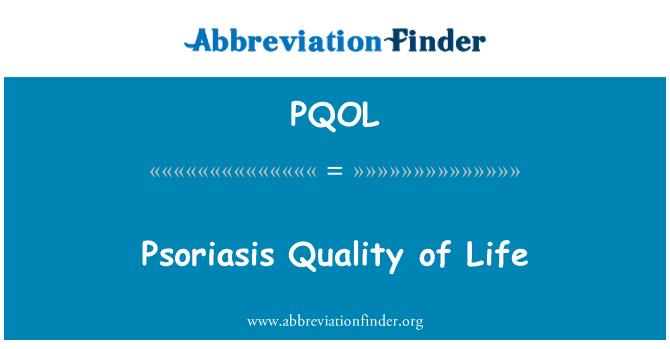 PQOL: Psoriasis Quality of Life