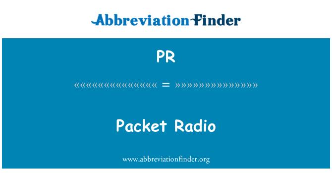 PR: Packet Radio