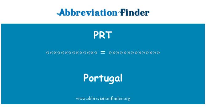 PRT: Portugal