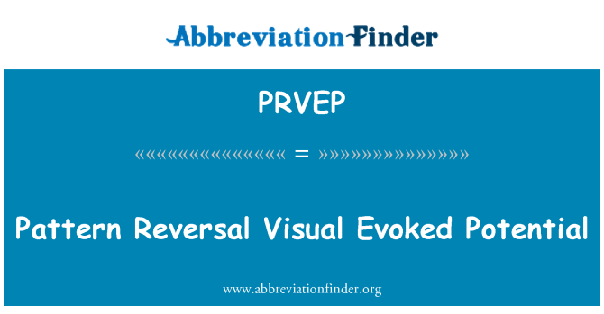 PRVEP: Pattern Reversal Visual Evoked Potential