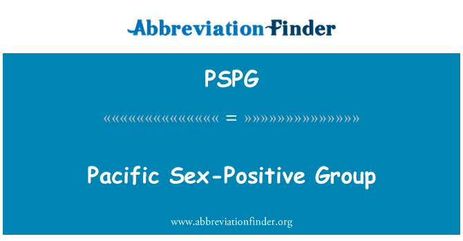 PSPG: Grupo sexual positiva del Pacífico