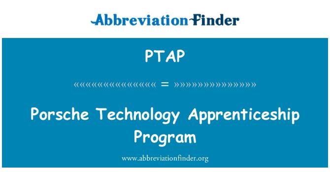 PTAP: Programa de aprendizaje de tecnología Porsche