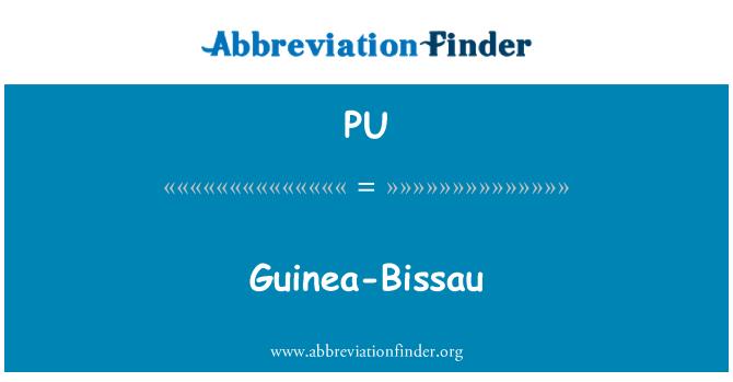 PU: Guinea-Bissau