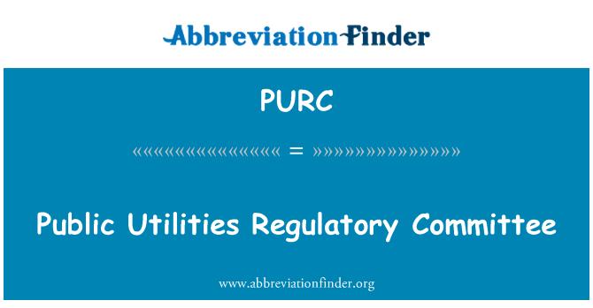 PURC: Komunalinių paslaugų reguliavimo komiteto