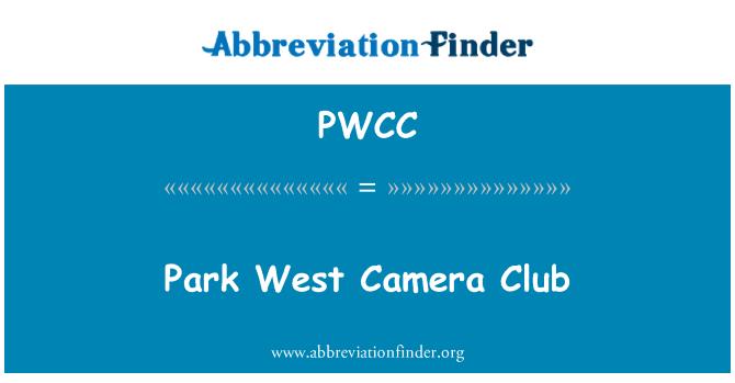 PWCC: Park West Camera Club