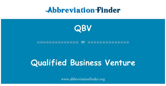 QBV: Nitelikli iş girişim