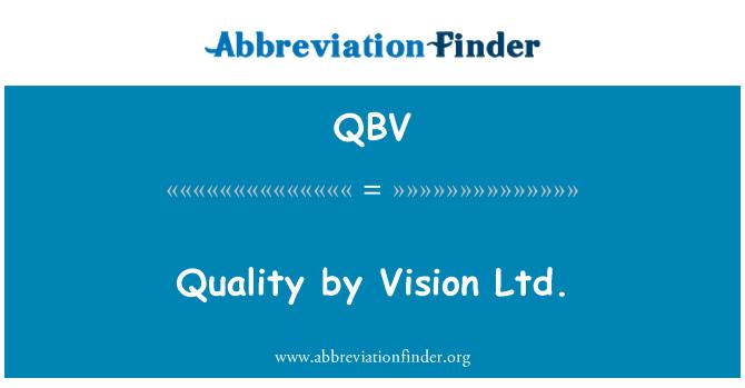 QBV: Kvaliteedi järgi Vision OÜ